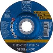 E115-7 A24 L PSF STEELOX/22.23